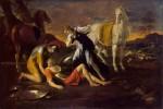 Живопись | Никола Пуссен | Танкред и Эрминия, 1631