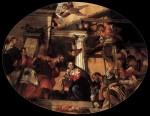 Живопись | Паоло Веронезе | Поклонение пастухов, 1558