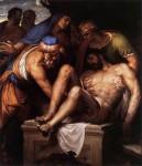 Живопись | Паоло Веронезе | Положение во гроб, 1548-49