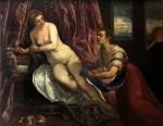 Живопись | Тинторетто | Даная, 1570