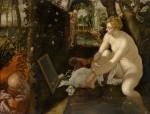 Живопись | Тинторетто | Сусанна и старцы, 1557