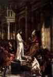 Живопись | Тинторетто | Христос перед Пилатом, 1566-67