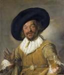 Живопись | Франс Халс | Весёлый собутыльник, 1626-27