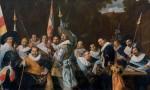 Живопись | Франс Халс | Встреча офицеров роты святого Адриана в Харлеме, 1633