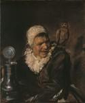 Живопись | Франс Халс | Малле Баббе, 1633