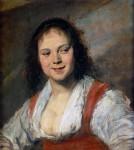 Живопись | Франс Халс | Цыганка, около 1630