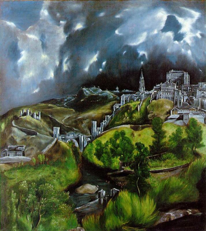 Эль Греко: Вид Толедо