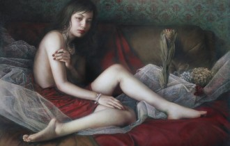 Юна Тсуру: «замутненные» женские портреты