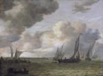 Живопись | Ян ван Гойен | Вид на реку, 1655