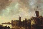 Живопись | Ян ван Гойен | Замок Монтфорт, 1645