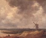Живопись | Ян ван Гойен | Мельница у реки, 1642