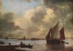 Живопись | Ян ван Гойен | Харлемское море, 1656