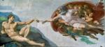 Фреска | Микеланджело | Сотворение Адама, около 1512