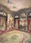 Архитектура | Замок Линдерхоф | Гобеленовый зал | Фотография 1900 года