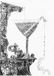 Графика | Merecellyn Will | В мартини