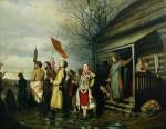 Живопись | Василий Перов | Крестный ход, 1861