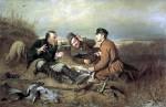 Живопись | Василий Перов | Охотники на привале, 1871
