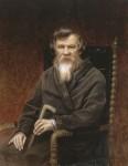 Живопись | Василий Перов | Портрет историка Михаила Петровича Погодина, 1872