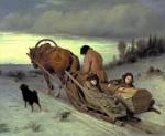 Живопись | Василий Перов | Проводы покойника, 1866