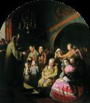 Живопись | Василий Перов | Проповедь в селе, 1861