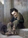 Живопись | Василий Перов | Савояр, 1863-64