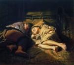 Живопись | Василий Перов | Спящие дети, 1870