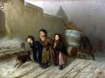 Живопись | Василий Перов | Тройка, 1866