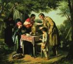 Живопись | Василий Перов | Чаепитие в Мытищах, 1862