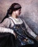 Живопись | Василий Суриков | Портрет Натальи Федоровны Матвеевой, 1909