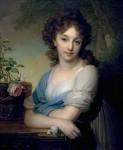 Живопись   Владимир Боровиковский   Портрет Елены Александровны Нарышкиной, 1799