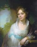 Живопись | Владимир Боровиковский | Портрет М. И. Лопухиной, 1797