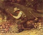 Живопись | Гюстав Курбе | Каменотес, 1849