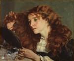 Живопись | Гюстав Курбе | Портрет Ио, прекрасной ирландки, 1865