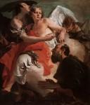 Живопись | Джованни Баттиста Тьеполо | Авраам и ангел, 1730