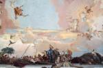 Фреска | Джованни Баттиста Тьеполо | Вюрцбургская резиденция | Аллегория Азия