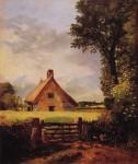 Живопись | Джон Констебл | Домик в Корнфильде, 1817