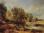 Живопись | Джон Констебл | Мельница в Стрэтфорде, 1820