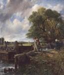 Живопись | Джон Констебл | Плотина, 1824
