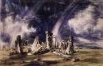 Живопись | Джон Констебл | Стоунхендж, 1835