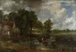 Живопись | Джон Констебл | Телега для сена, 1821
