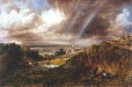 Живопись | Джон Констебл | Хэмпстед-Хит с радугой, 1836