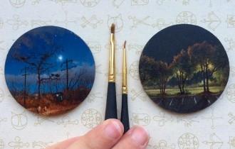 Дина Бродски: Миниатюрная живопись