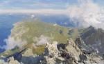 Живопись | Дмитрий Белюкин | Панорам Афона с Вершины Святой Горы, 1999