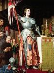 Живопись | Доминик Энгр | Жанна д'Арк на коронации Карла VII, 1854