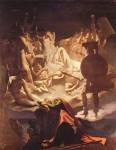Живопись | Доминик Энгр | Сон Оссиана, 1813