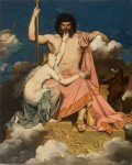 Живопись | Доминик Энгр | Юпитер и Фетида, 1811