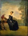 Живопись | Жан Антуан Ватто | Капризница, 1718