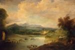 Живопись | Жан Антуан Ватто | Пейзаж, 1714