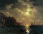 Живопись | Иван Айвазовский | Золотой Рог. Босфор, 1872