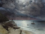 Живопись | Иван Айвазовский | Ночь в Гурзуфе, 1891